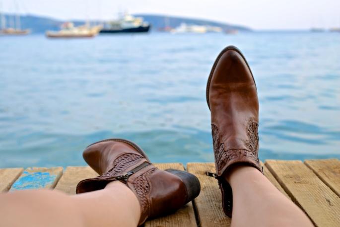 chaussure-cuir